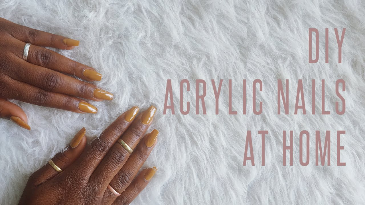 Diy healthy acrylic nails at home quick dip powder system kit youtube premium solutioingenieria