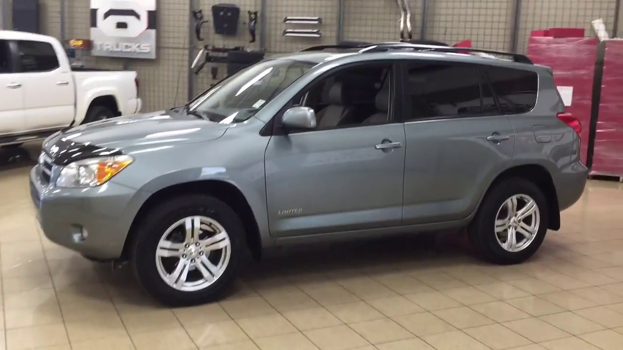 2007 Toyota RAV4 Limited Review