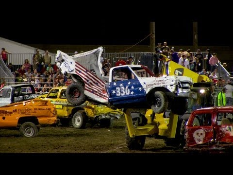 Demo Derby Trucks | Colorado State Fair 2013