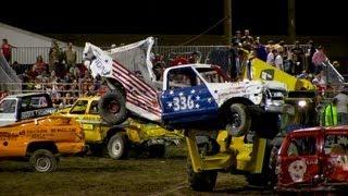 Demo Derby Trucks   Colorado State Fair 2013
