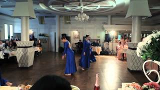 Свадьба замечательной и красивой пары Альберта и Лилии. Выступление танцевального коллектива (Live)