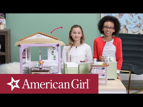 Explore Blaire's Family Farm Kitchen | Blaire Wilson | American Girl