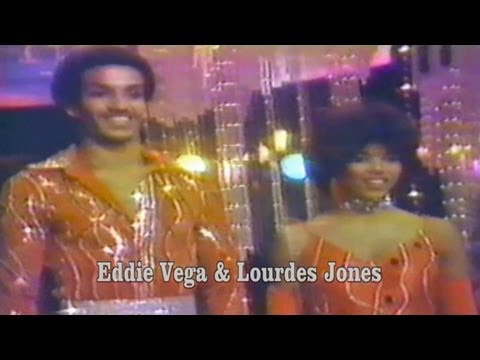 rare: Eddie Vega & Lourdes Jones dance the Hustle on Dance Fever (pre-lims)