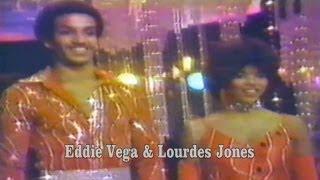 rare: Eddie Vega & Lourdes Jones dance the Hustle on Dance Fever (pre-lims)