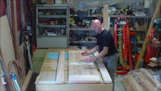 Making Solid Wood (alder) Interior Doors- Part 2 Of 2.wmv