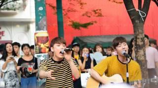 07302016 -Vromance @Hongdae -200% (AKMU) Hyunkyu and Chandong version