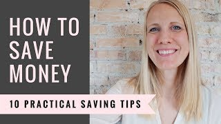 How To Save Money | 10 Helpful Tips For Your Budget - Debt Free Living
