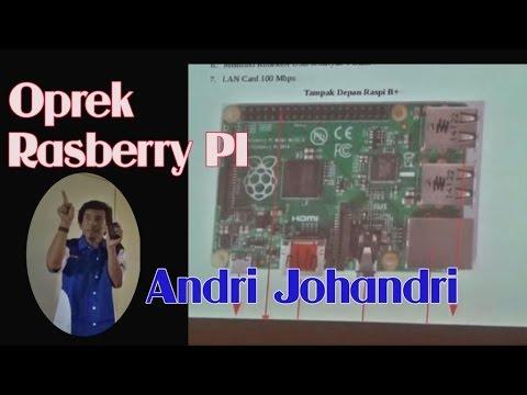 Oprek Raspbery PI Untuk OpenBTS - Sinebar RTIK Madiun