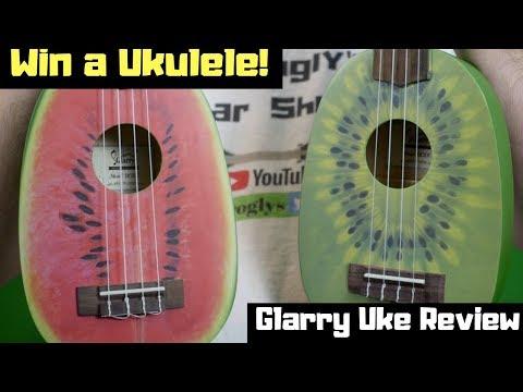 Win A Ukulele! The Fruit Shaped eBay Ukes | Glarry UC101 Review + Demo
