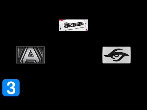 Alliance vs Team Secret Game 3- EPICENTER Moscow Full Highlights Dota 2