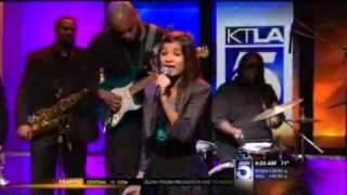 Nick Cooper with PiaMia Perez and Trevor Wesley on PiaMia KTLA