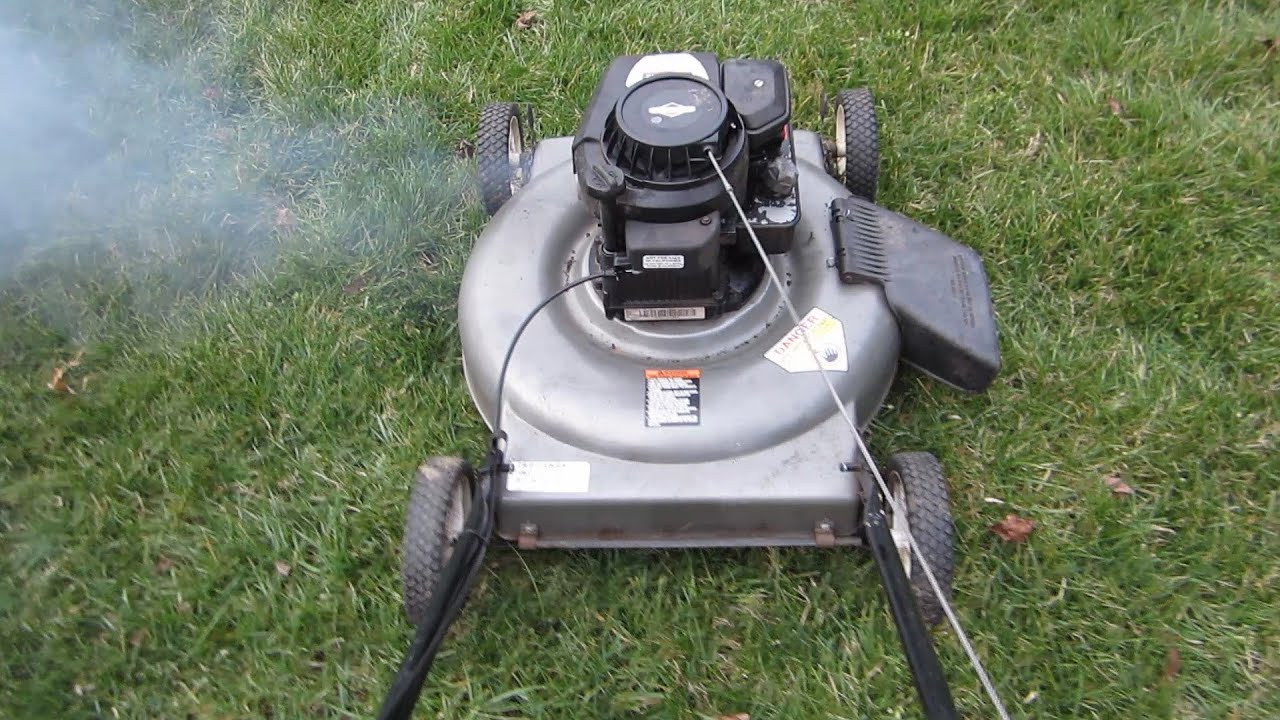 Sears Craftsman Lawn Mower, It's Alive - Craigslist Find ...