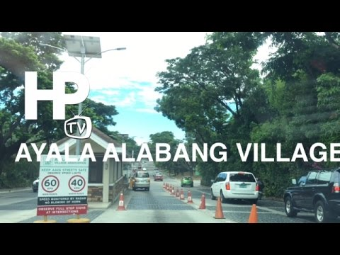 Ayala Alabang Village Overview Muntinlupa by HourPhilippines.com