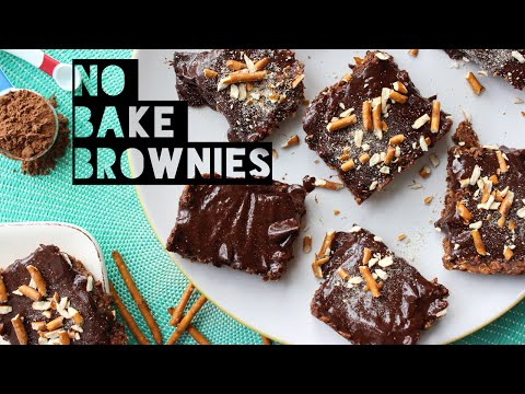 Healthy Brownie Recipe | How To Make No Bake Healthy Chocolate Brownies