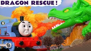 Thomas & Friends Trackmaster Dragon Escape Toy Train Story For Kids With The Funny Funlings Tt4u