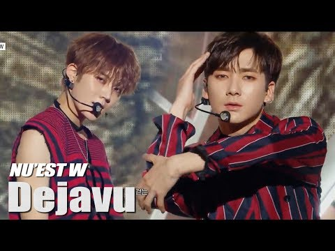 [Comeback Stage] NU'EST W - Dejavu ,  뉴이스트 W - 데자부 Music Core  Show Music Core 20180630