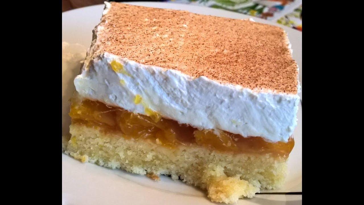 Mandarinen Schmand Kuchen Als Blechkuchen Youtube