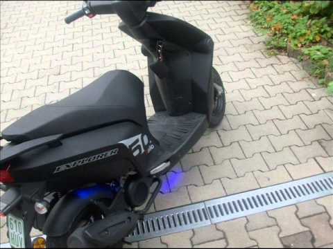 kallio 50 scooter leichter tuning part 2 youtube. Black Bedroom Furniture Sets. Home Design Ideas