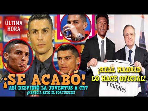 Download BOMBAZO: LA JUVENTUS DESPIDIÓ HOY A CR7 | OFICIAL: NUEVO FICHAJE GALACTICO DEL REAL MADRID