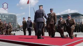 W piątek 9 sierpnia na Placu Marszałka Józefa Piłsudskiego oficersk...
