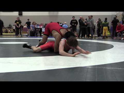 2014 Huskie Open: 54 kg Richard Cux vs. Freddie Aziz
