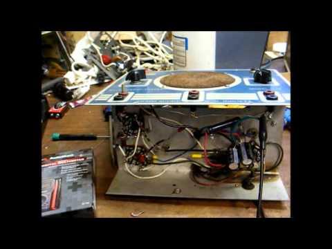 Eico 145 signal tracer repair & cheap radio shack DMM