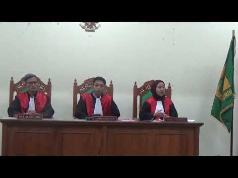 Sidang Pengadilan Negri Padang Dalam Perkara Wanprestasi No.REG.018/PDT.G/2019/PN.PDG