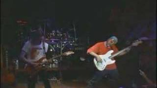 Paul Gilbert playing scarified with RACER X Live!