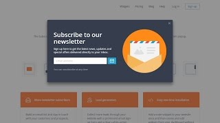 How To Create a Popup Email Subscription Box For WordPress