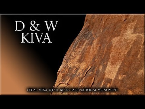 D And W Kiva Cedar Mesa Bears Ears National Monument