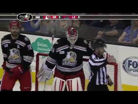 5-7-16 Grand Rapids Griffins vs Lake Erie Monsters Post Game Highlights - Round 2, Game 2