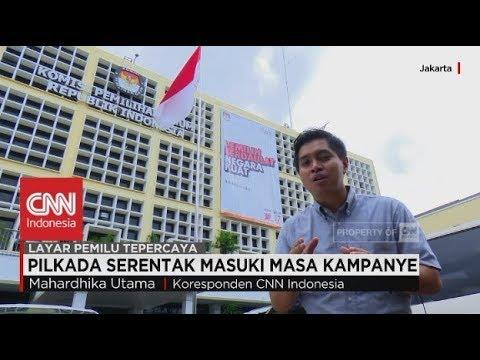 Pilkada Serentak Masuki Masa Kampanye - Pilkada 2018