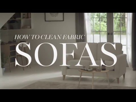 M&S Home: How To Clean Fabric Sofas