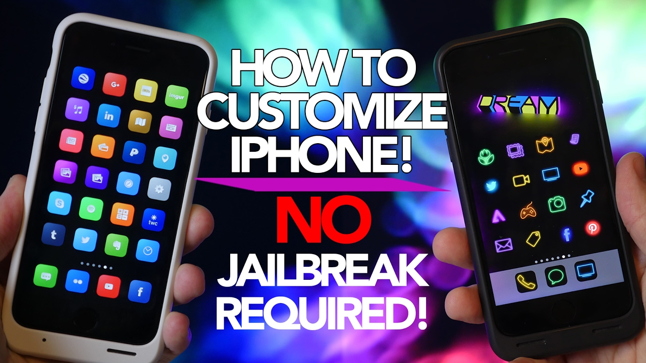 How to Customize iPhone Without Jailbreaking