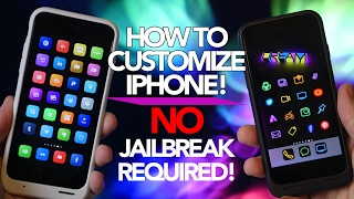 how to customize iphone for free ios 10 no jailbreak required