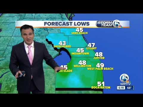 South Florida weather 10/29/17 - 6pm report