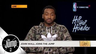 John Wall joins The Jump and talks knee surgery, negative comments and returning | The Jump | ESPN