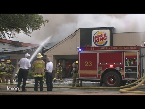 Total loss of structure in Burger King fire