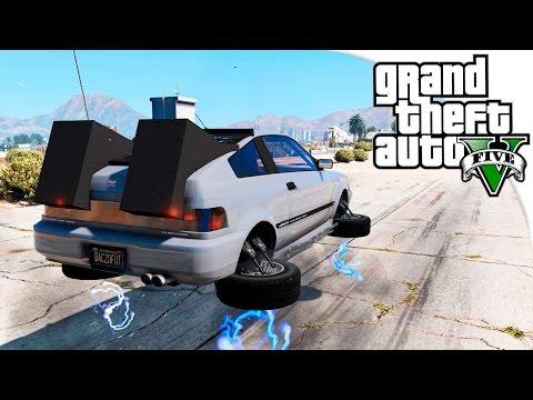GTA 5 Моды: Машина Времени - Отправляемся в будущее! ✅