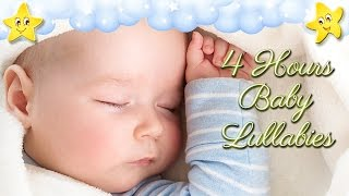 4 Hours Soothing Baby Bedtime Music ♥♥♥ Brahms Lullaby ♫♫♫ Mozart Twinkle Hushaby