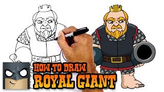 How to Draw Royal Giant | Clash Royale