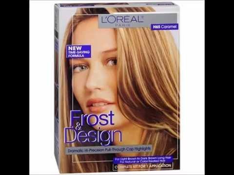 L Oreal Paris Frost Design Hi Precision Pull Through Cap Highlights Frost Design Caramel H65 1 Youtube