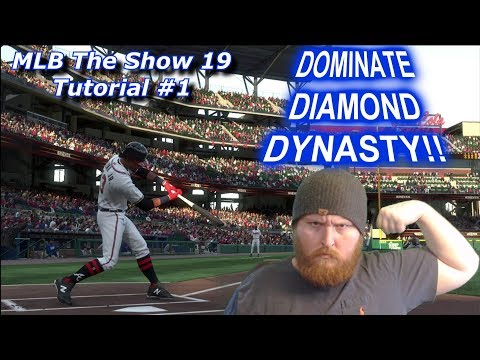 Become A Diamond Dynasty BEAST! - Episode 1: Settings - MLB The Show 19 Tutorial