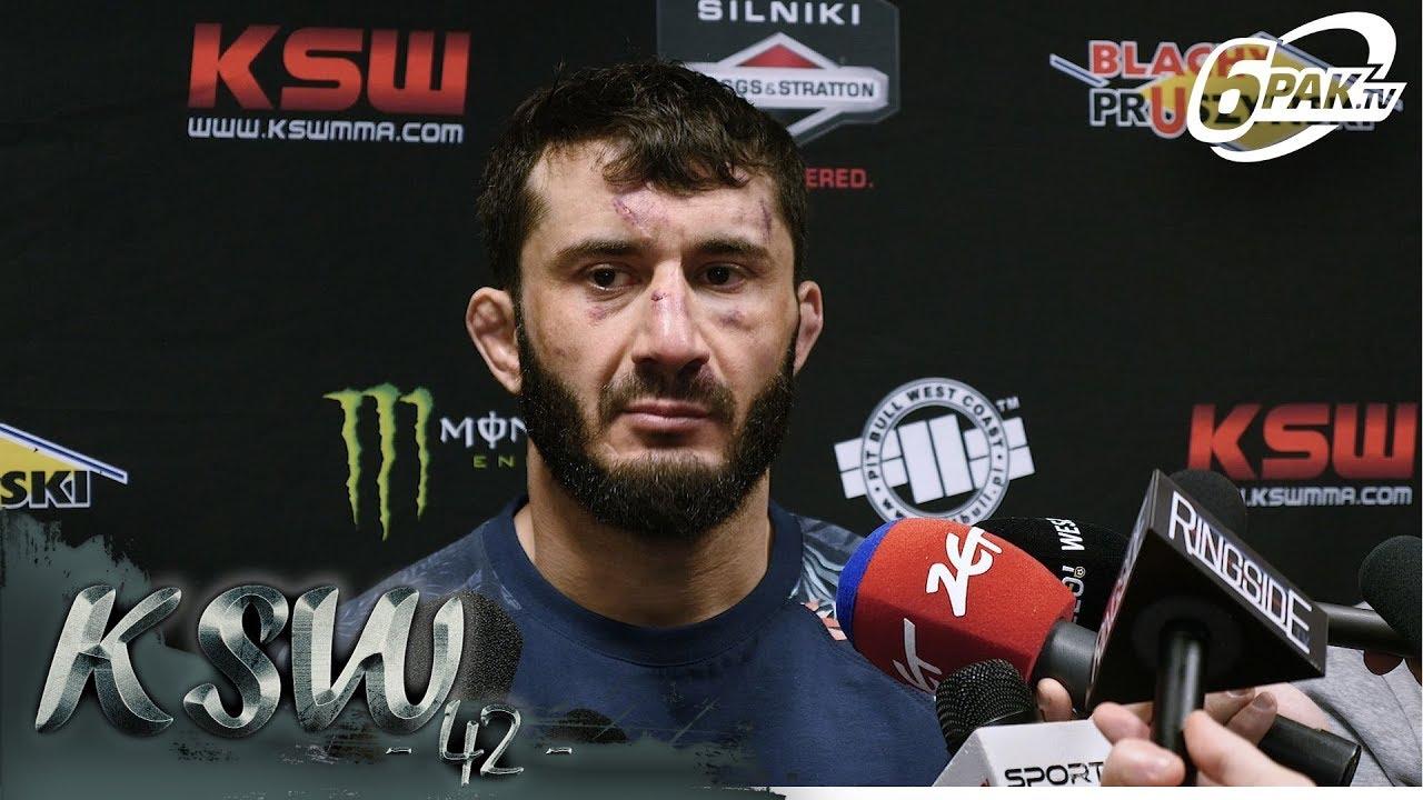 """Mamed Khalidov po przegranej  na KSW 42 – """"Narkun będzie mi się śnił po nocach, chcę rewanżu"""""""