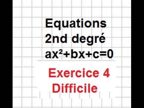 1S-Le second degré-Ex12 quatro -Un peu dur - equations ...