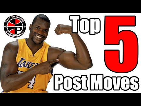 Top 5 Post Moves | Dominate the Low Post | Pro Training Basketball
