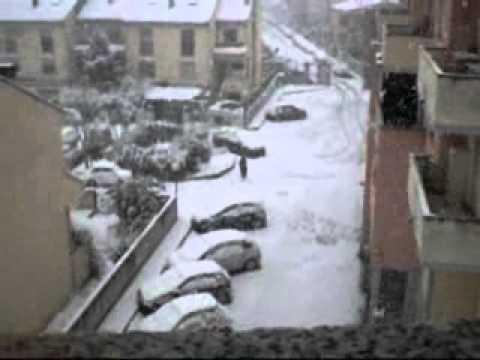 olbia la neve 2012 neve ad olbia.wmv