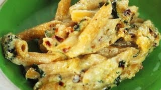 How To Make Zucchini, Mint And Ricotta Pasta