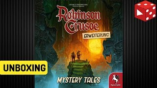 Unboxing: Robinson Crusoe - Mystery Tales Erweiterung