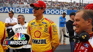 Joey Logano draws criticism at Dover International Speedway | Spalsh & Go | Motorsports on NBC